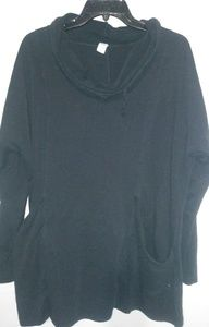 Old Navy Black Pocketed Pullover XL